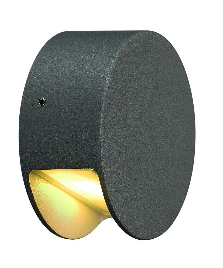 Pema led de slv une applique pour exterieur de couleur for Luminaire exterieur anthracite