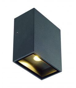 applique carrée anthracite LED QUAD 1 XL - 1x32W 3000K IP44