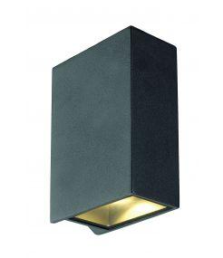 applique QUAD 2 XL carrée anthracite LED 2x32W 3000K up-down IP44