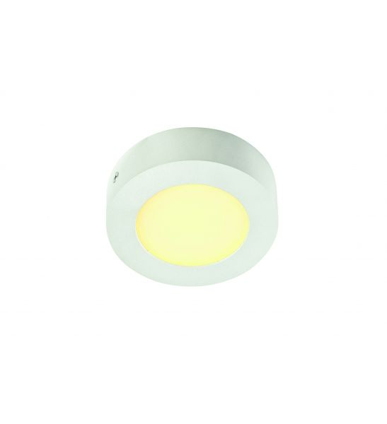 applique SENSER rond blanc 6W LED 3000K