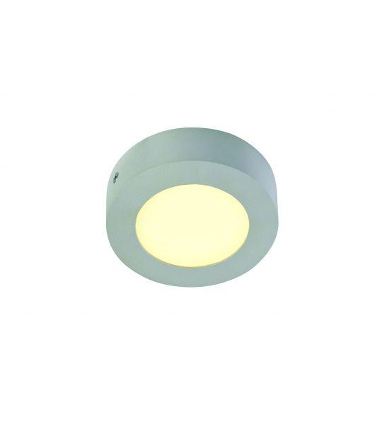 SENSER applique rond gris argent 6W LED 3000K