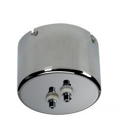 Transformateur ferromagnétique 105VA, chrome, 12V , pour alimentation directe