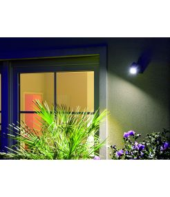 NAUTILUS SQUARE LED WL applique carré, anthracite, 6W, 3000K