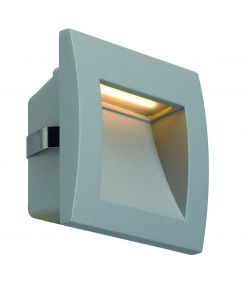 DOWNUNDER OUT LED S, encastré mural gris argent LED 0.96W 3000K