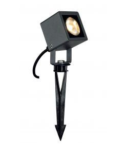 spot NAUTILUS SQUARE LED carré, anthracite, 6,7W, 3000K