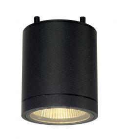 plafonnier ENOLA C OUT CL rond anthracite 9W LED 3000K