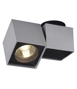 Plafonnier Altra dice I gris argent/noir gu10 50w max