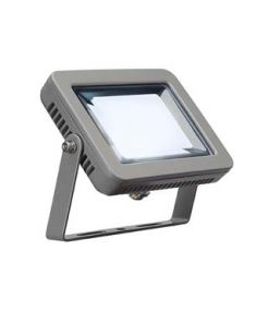 SPOODI 15, projecteur extérieur LED gris argent, 10W, 4000K