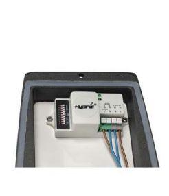 applique MERIDIAN BOX anthracite 20W détecteur de mouvement
