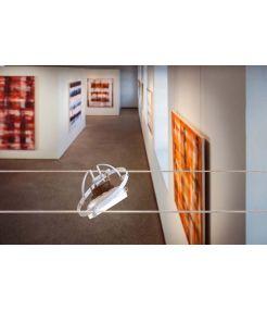 QRB, spot pour cable tendu, orientable, blanc