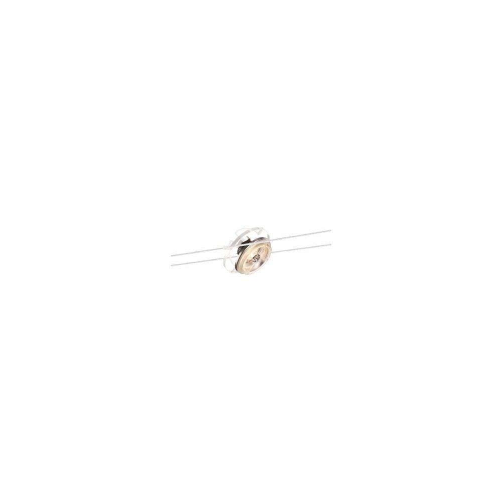 Spot pour cable tendu qrb blanc de slv un modele orientable - Spot cable tendu ...