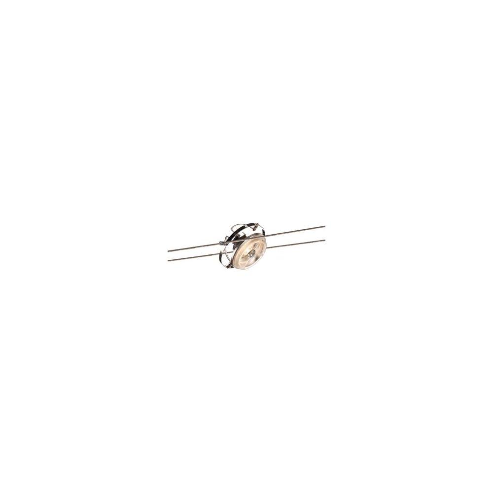 Spot pour cable tendu de slv le qrb chrome pour un - Spot cable tendu ...