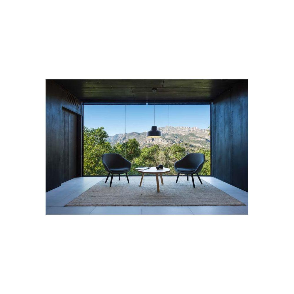 fenda abat jour industriel aluminium noir interieur blanc slv. Black Bedroom Furniture Sets. Home Design Ideas