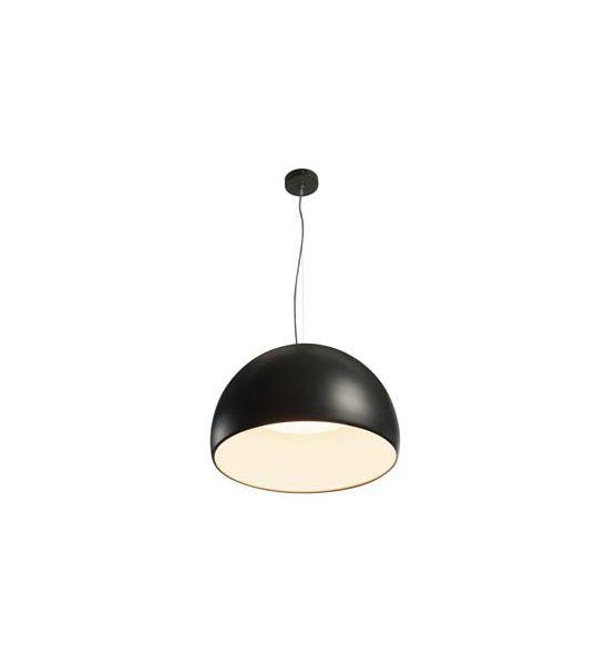 BELA 60 LED suspension, noir/blanc, LED 31W, 3000K, 1850lm