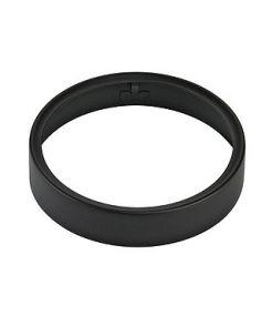 Rail 3 allumages, anneau deco pour spot sleek spot g12, noir