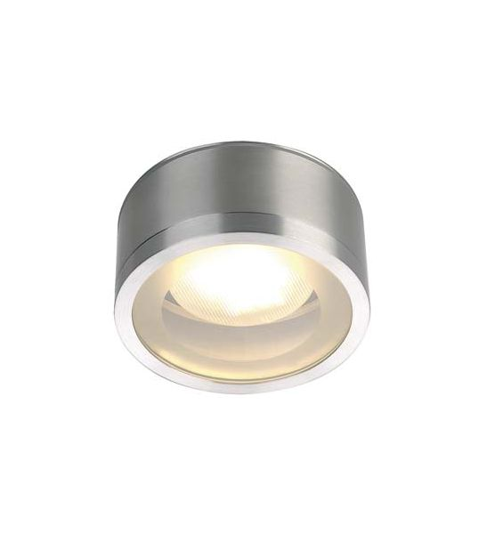 Plafonnier exterieur rox ceiling out alu brosse tcr tse for Luminaires exterieur