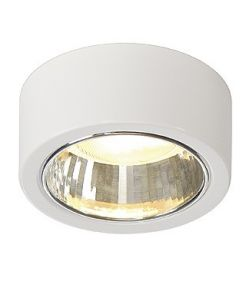 Plafonnier rond blanc max.11w - Cl 101 GX53