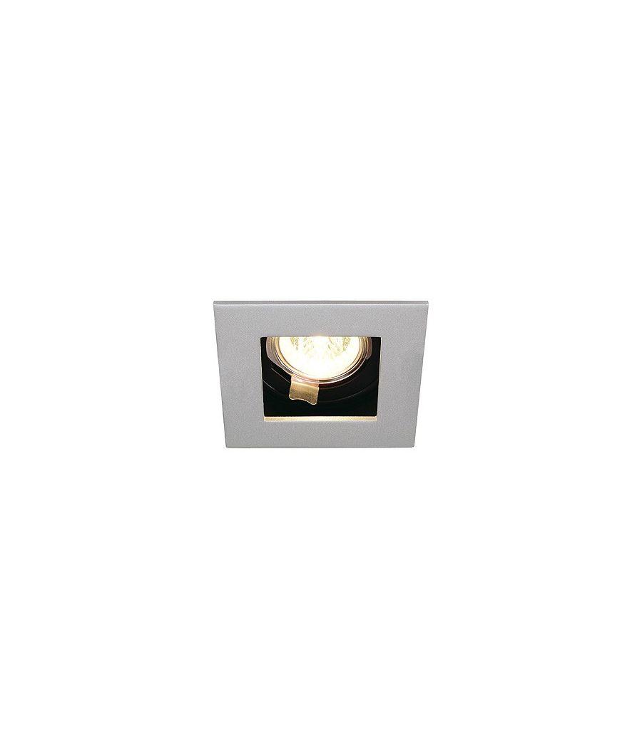 luminaire encastrable plafond indi rec 1s mr16 slv. Black Bedroom Furniture Sets. Home Design Ideas