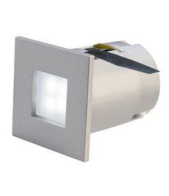 Spot carré encastrable led blanc chaud Mini frame