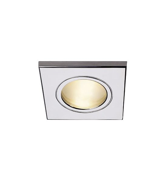 Spot carr encastrable ext rieur chrome fgl out mr16 slv for Spot encastrable plafond exterieur