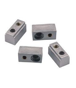 C-track, t.b.t., suports muraux gris argent, 4 pces