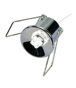 G4 led, 12v, 1x superflux led, 60°, blanc