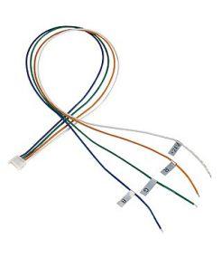 Cable d'alimentation pour bandeau led rgb, 50cm, 2 pieces
