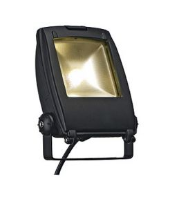 Led flood light 10w, projecteur noir, led blanc chaud, 120°