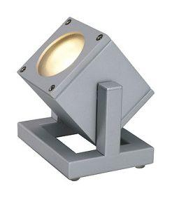 Projecteur gris argent Cubix I - gu10 35w max