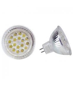 LEDI LIGHT MR16 AVEC 18 LED BLANCHES