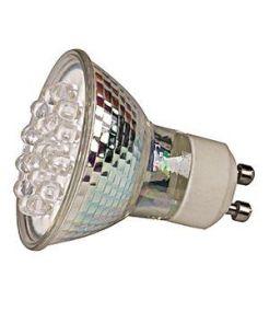 LEDI LIGHT GU10 AVEC 18 LED BLANCHES