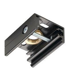 Rail 3 allumages eutrac, clip de fixation pour susp. rigide, noir