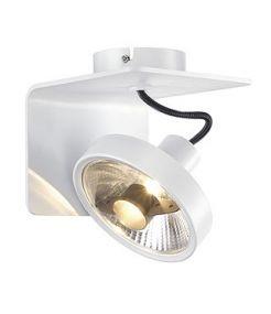 Plafonnier Jessy cl-1, blanc, es111, gu10, 75w max.