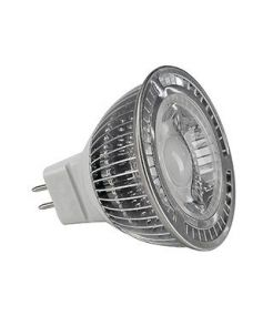 MR16 LED 5W, BLANCHE, 60°, NON VARIABLE