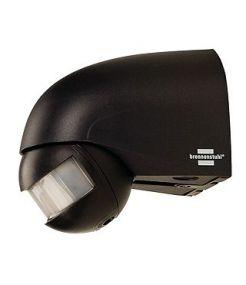 Détecteur de mouvement infrarouge IP44, anthracite