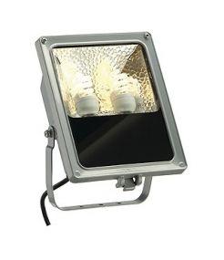 Sxl compact, projecteur exterieur, gris argent, g9, 2x42w max