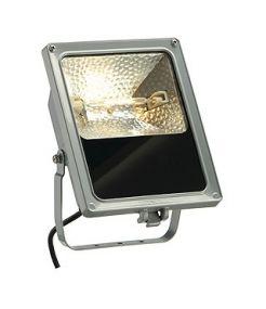 Sxl compact, projecteur exterieur, gris argent, r7s, 130w max