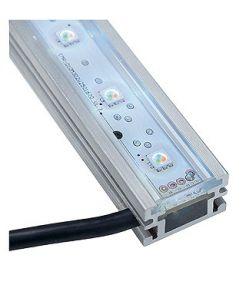 Bandeau led rgb exterieur, 100 cm, 40 rgb led 3en1