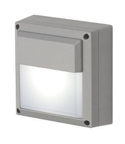 Wl 172 gx53, applique gris argent, max. 11w