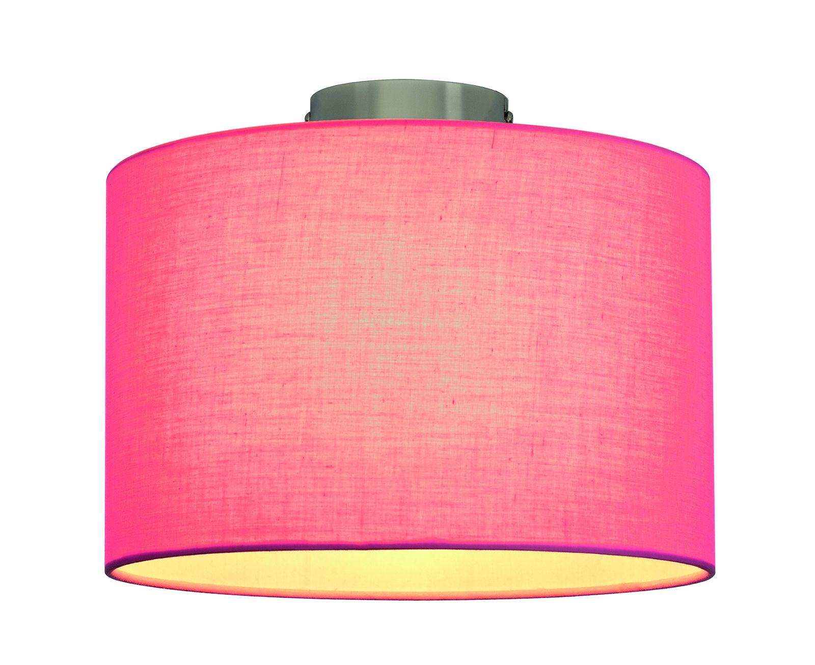abat jour rose fenda textile slv. Black Bedroom Furniture Sets. Home Design Ideas